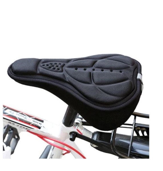 Fahrrad Sattel Polster Pro Schwarz