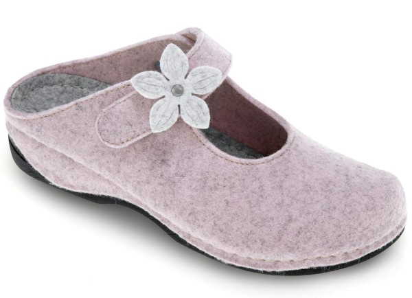 Dr. Feet Damen Hausschuhe Rosa Gr. 41