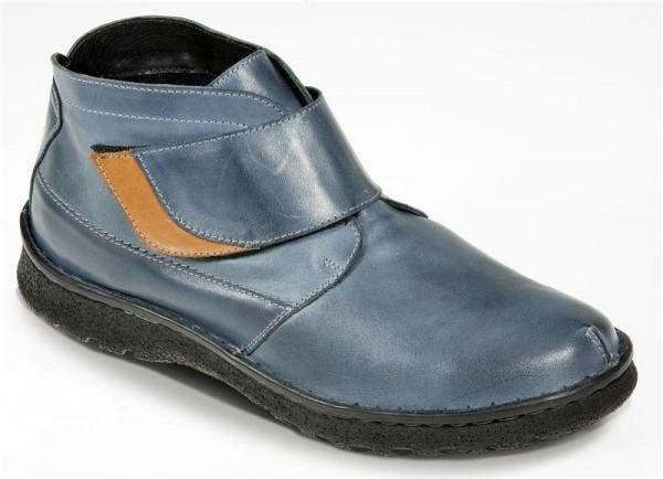 Gemini Herren Stiefelette Jeansblau Gr. 42