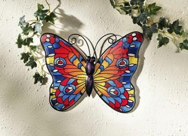 Wanddeko Schmetterling bunt