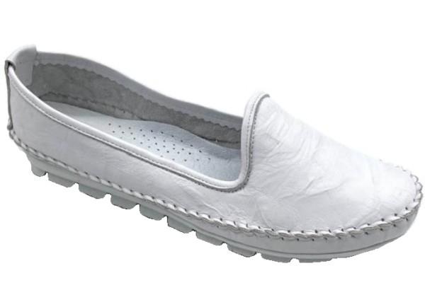 Gemini Damen Ballerinas Weiß Gr. 40
