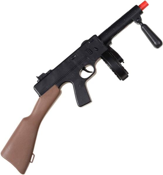 Maschinengewehr aus Kunststoff mit Sound