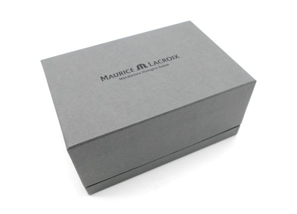 Maurice Lacroix Uhrenbox Grau Matt