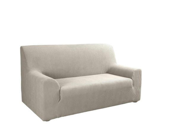 Sofabezug 3-Sitzer Schoner Beige