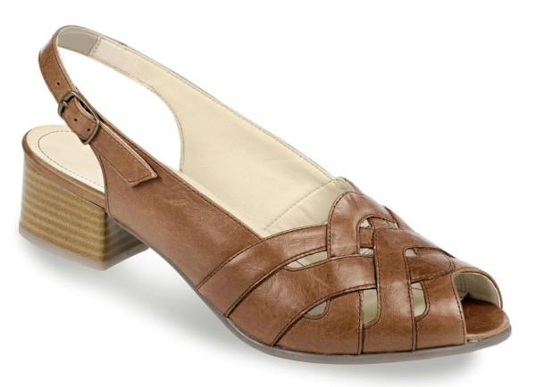 Damen Sandaletten Braun Gr. 36,5 50235-040