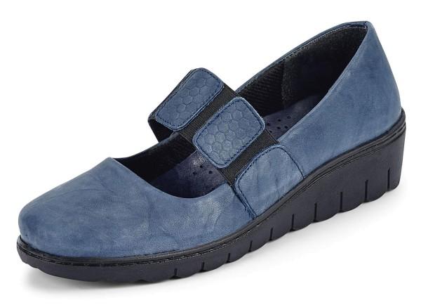 Gemini Damen Slipper Blau Gr. 40