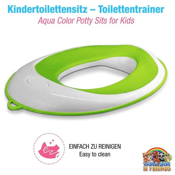 Toilettentraining Ring grün