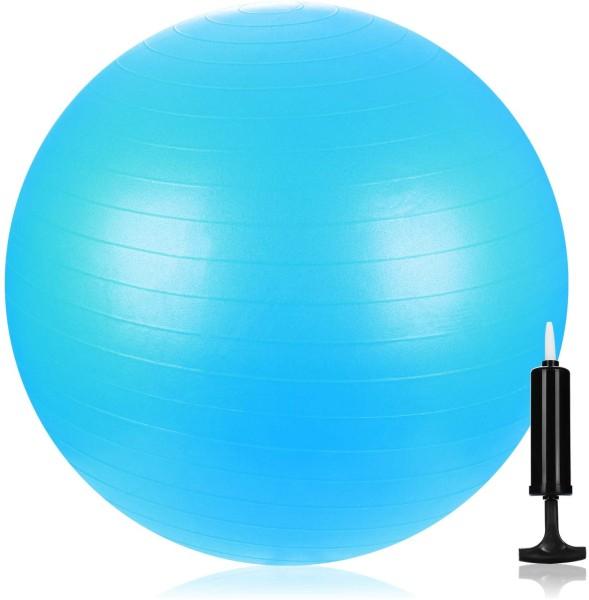 Gymnastikball mit Pumpe Blau 55cm