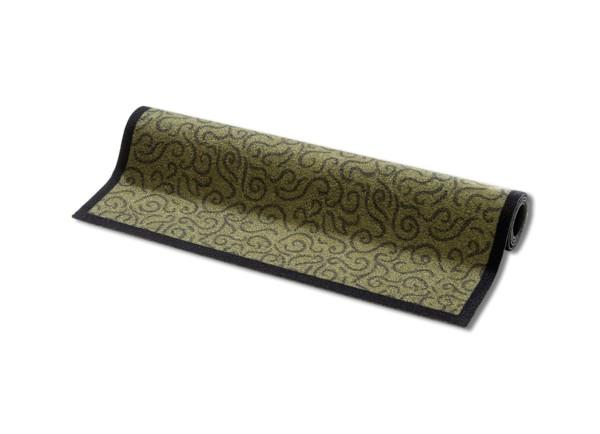 Schmutzmatte grün mit Muster 90x150 cm