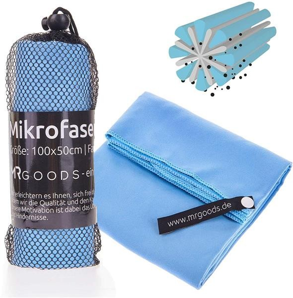 faltbare Aufbewahrunsgtasche blau 22L