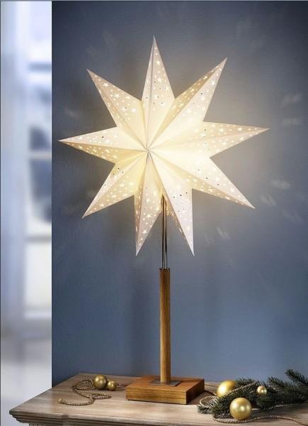Tischleuchte Stern