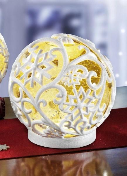 LED Schneekugel