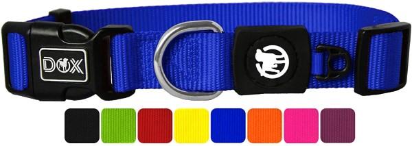DDOXX Hundehalsband Nylon blau Gr. XS