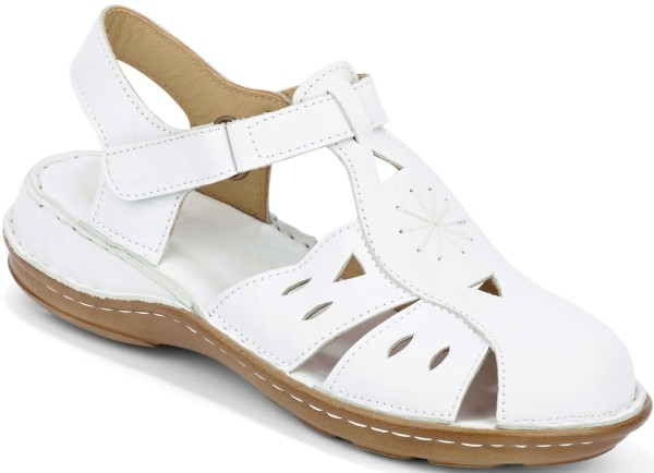Gemini Damen Sandalette Weiß Gr. 39