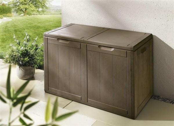 Aufbewahrungsbox 180L braun