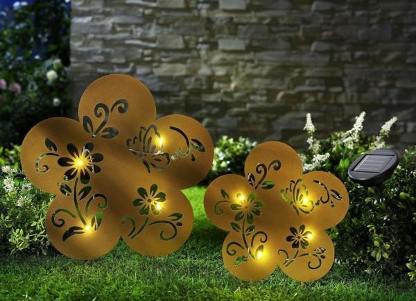 Solar Blumen 2er Set