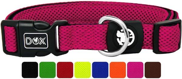 DDOXX Hundehalsband Air Mesh pink Gr. S