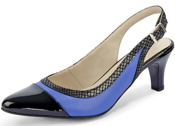 Damen Pumps Blau Gr. 36
