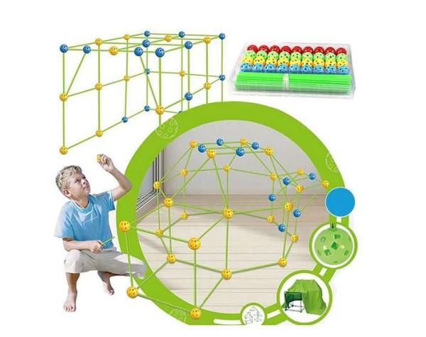 Kinderspielzeug 3D Konstruktions Bauset