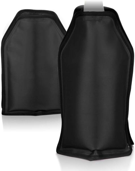 2x Flaschenkühler Schwarz Weinkühler