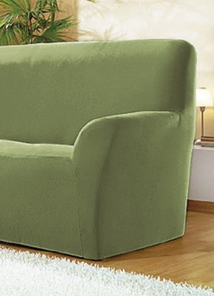 Sofabezug Grün 2-Sitzer